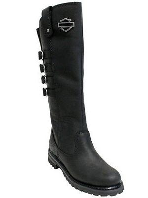 Harley-Davidson Womens Josi Tall Black Boots