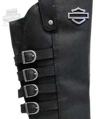 "Harley-Davidson 15"" Tall Black Boots D87038"