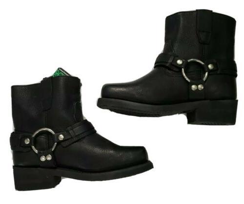 XElement Full Grain Black Boots Mens