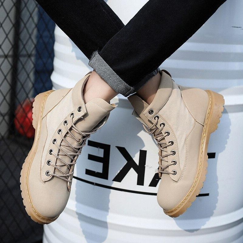 QMJHVX martin Outdoor Working For <font><b>Men</b></font> Shoes Shoes <font><b>Motorcycle</b></font>
