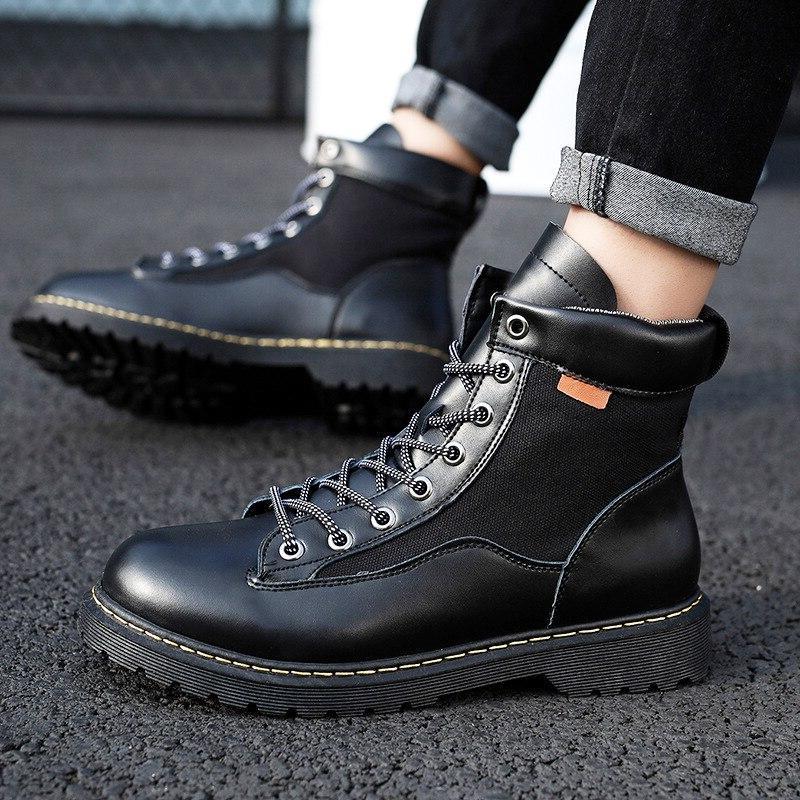 QMJHVX High Quality martin Outdoor <font><b>Boots</b></font> <font><b>Men</b></font> Shoes <font><b>men's</b></font> Shoes <font><b>Boots</b></font>