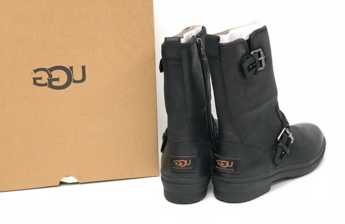 Ugg Australia Stud Boots Waterproof WP Buckle Deco