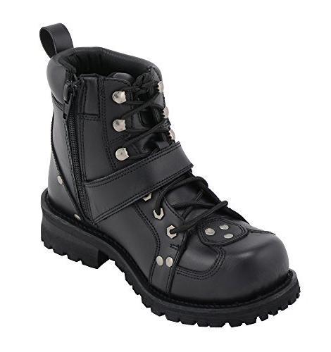 M-BOSS APPAREL Road Boots -BLACK-12