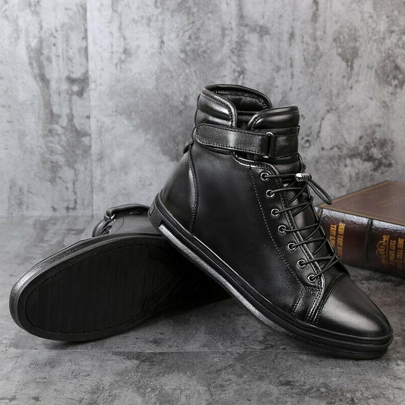 Men Boots Casual Motorcycle Boots