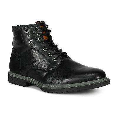 Bruno Marc Men Combat Chelsea Ankle Leather