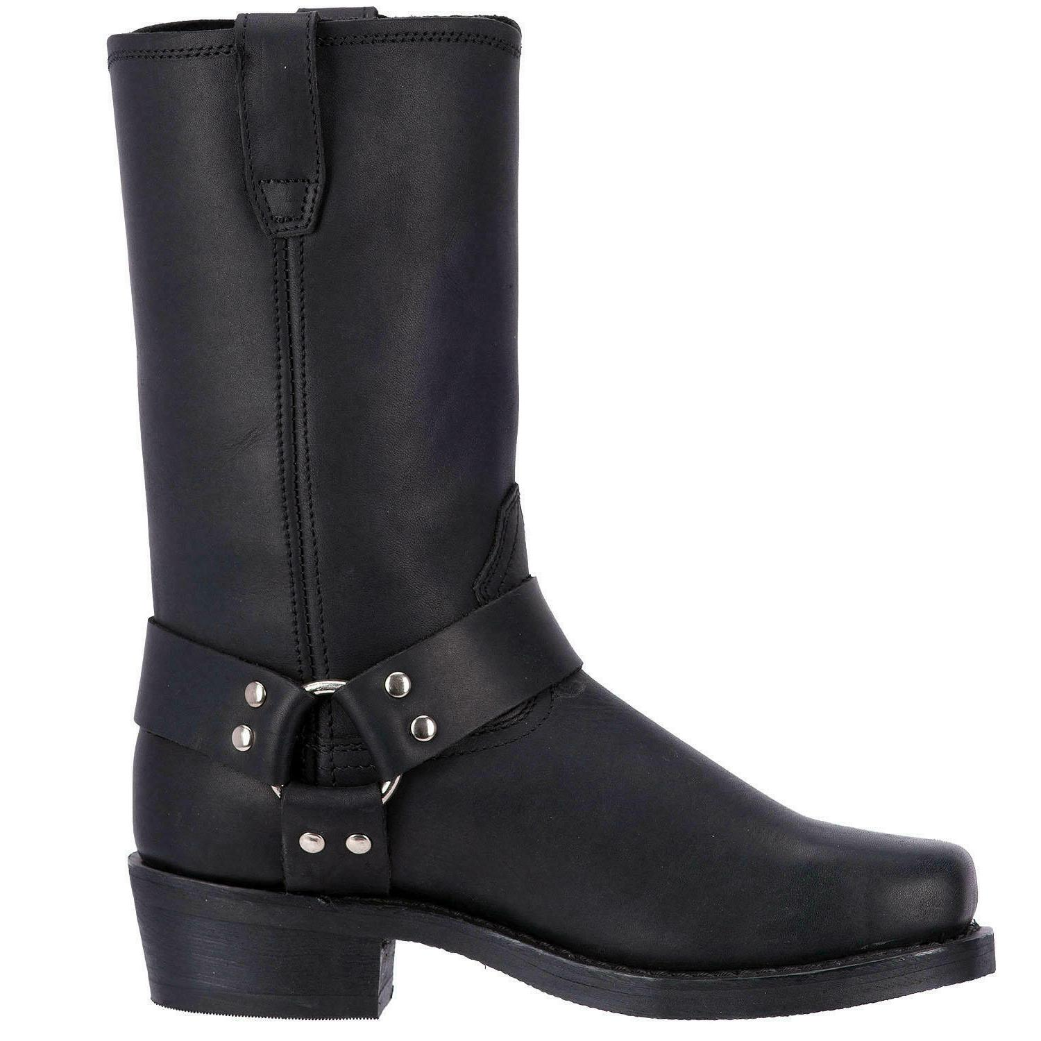 Dingo Black Leather Boots