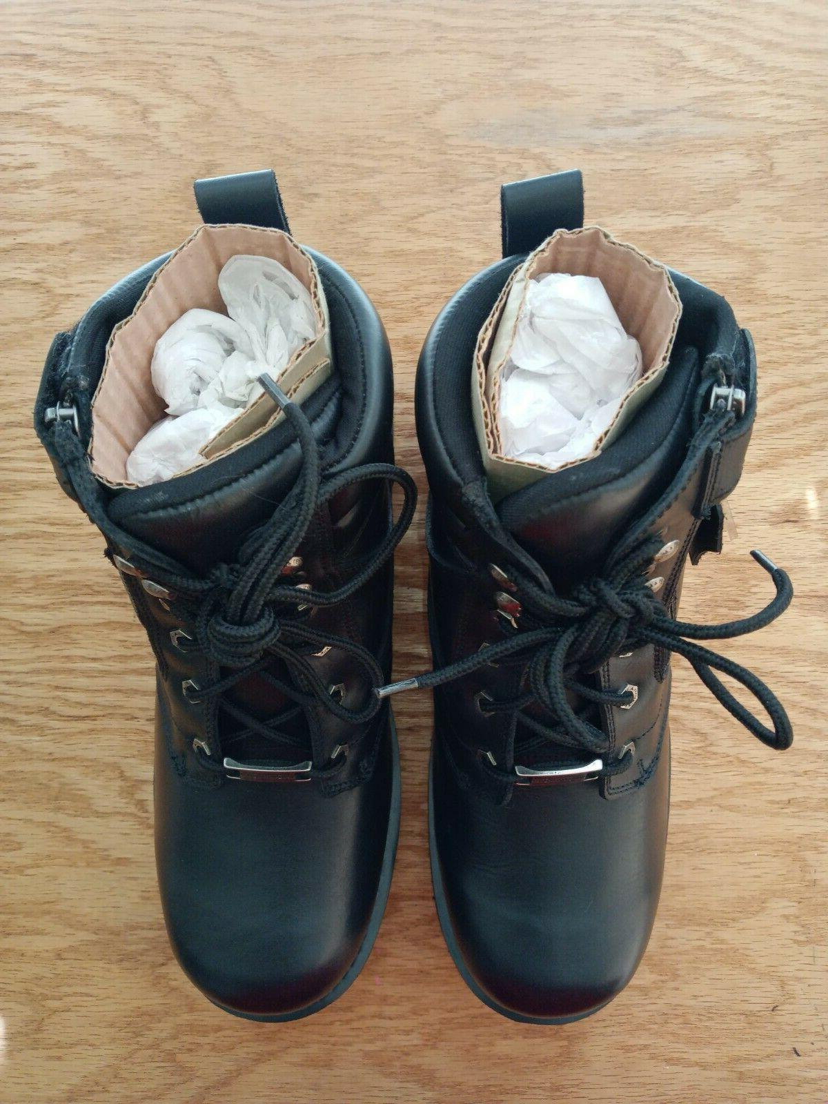 Milwaukee Leather Boots w/ & Toe Size 12