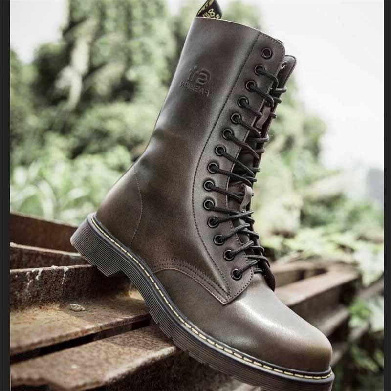 Men's Britain Boots High Tactical Military
