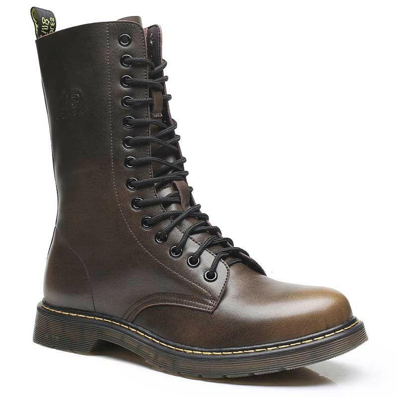 Men's Britain Oxford Boots Motorcycle High Tactical