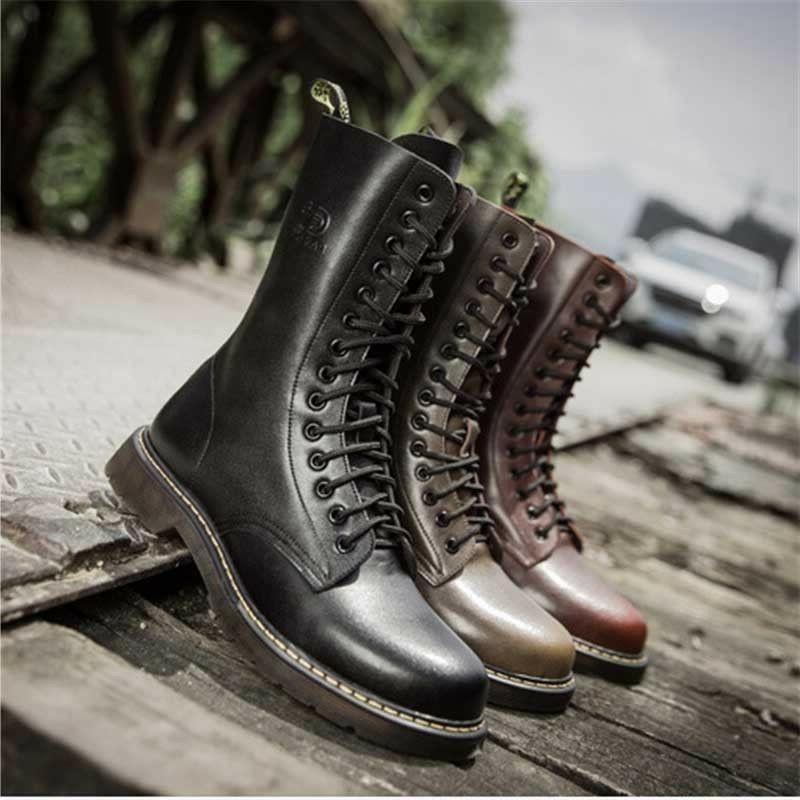 Men's Britain Oxford Boots Tactical