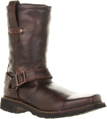 Durango Men's Chicago 11-inch Harness Boot,Bourbon,9.5 D  US