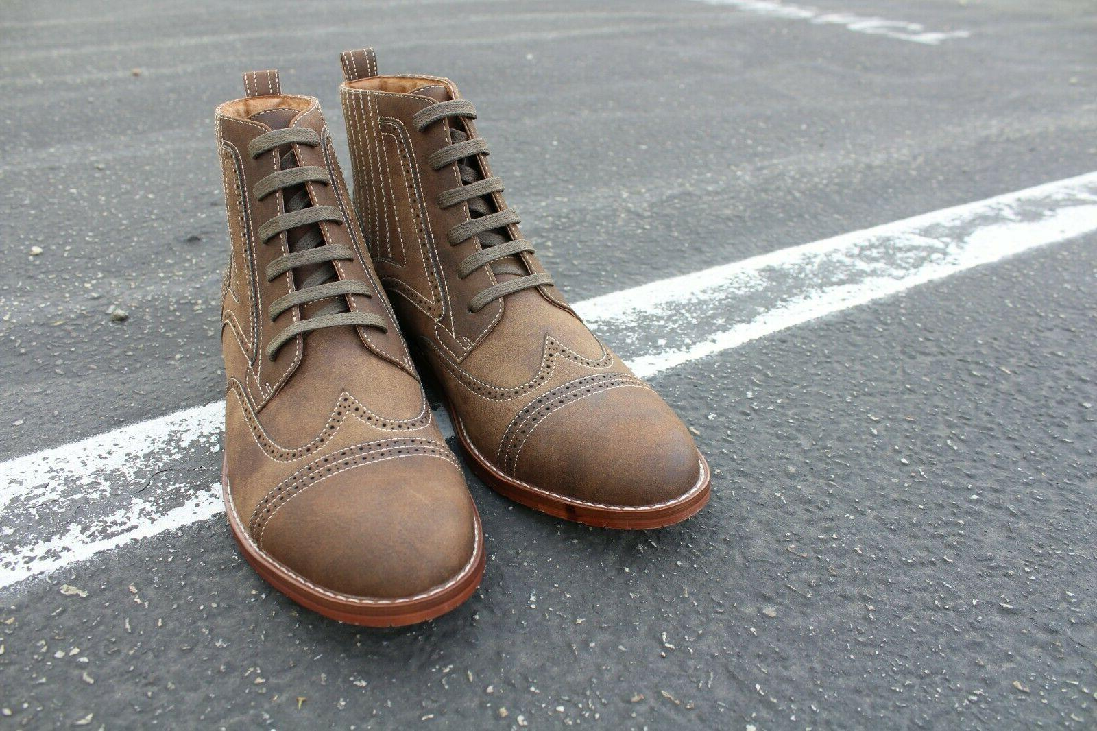 Men's Up Mid Motorcycle Boots