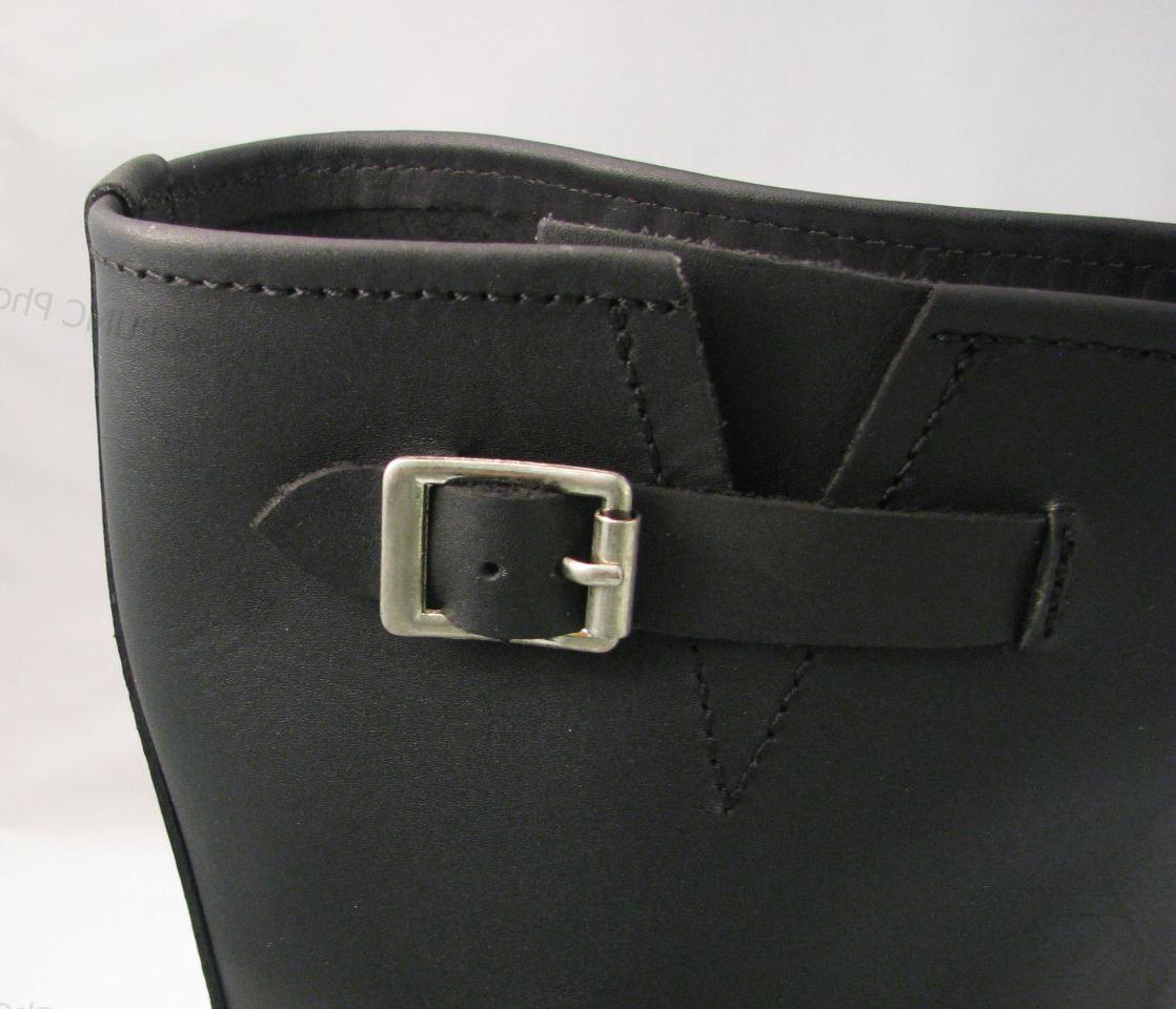Men's Biker Grain Leather NIB