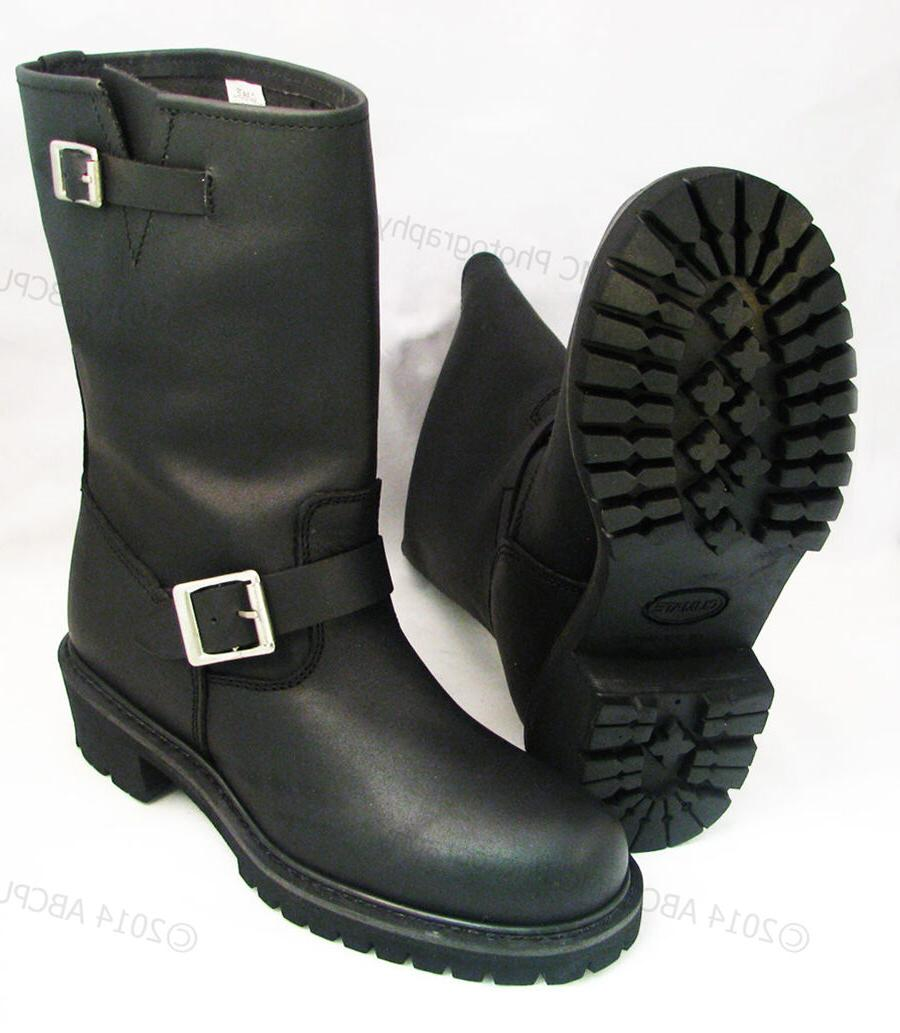 men s engineer boots motorcycle biker full