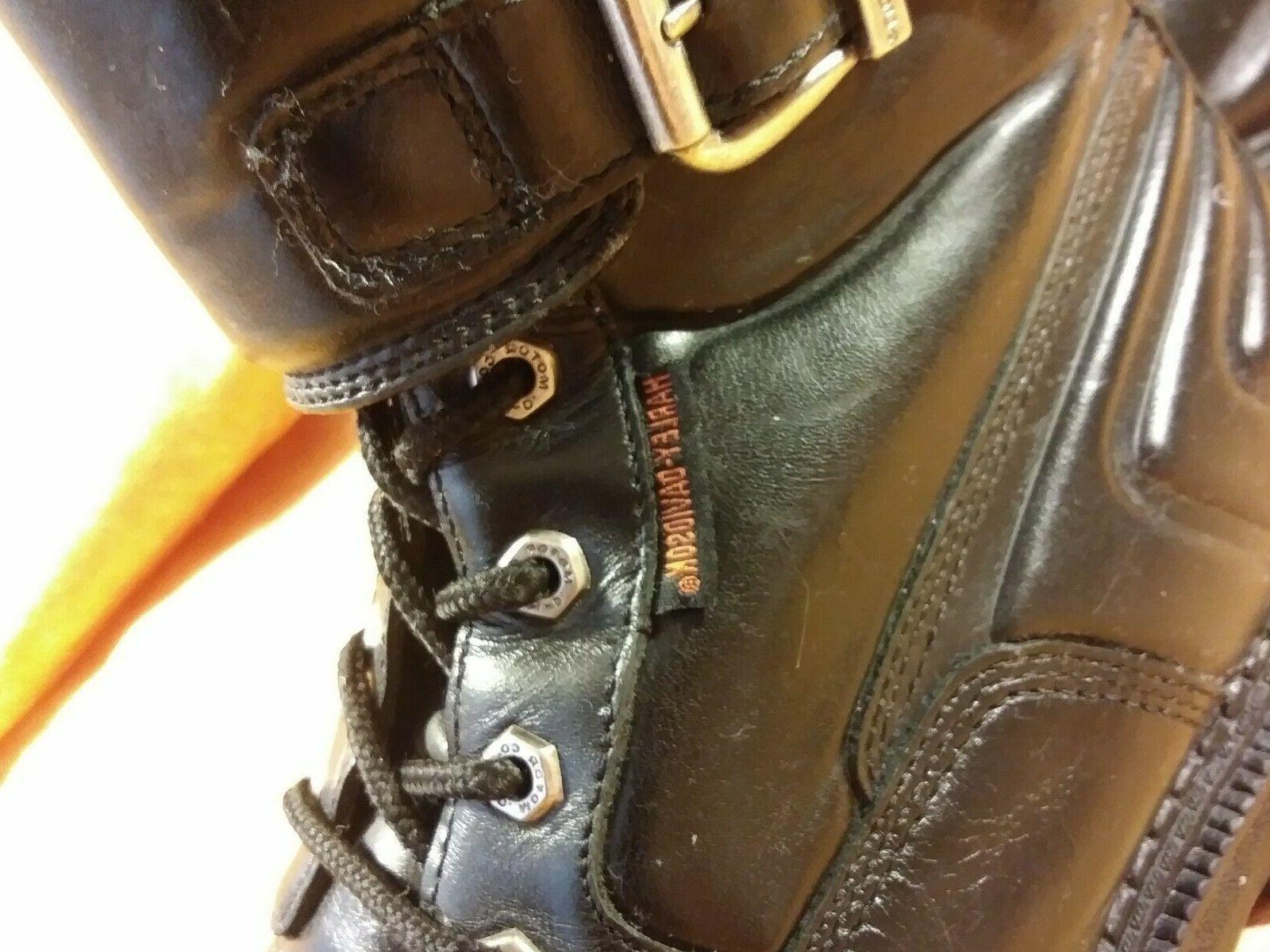 Men's Black Leather D