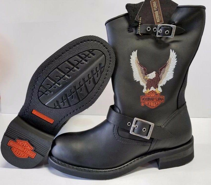 Men's Pull-On Motorcycle Boots D93309