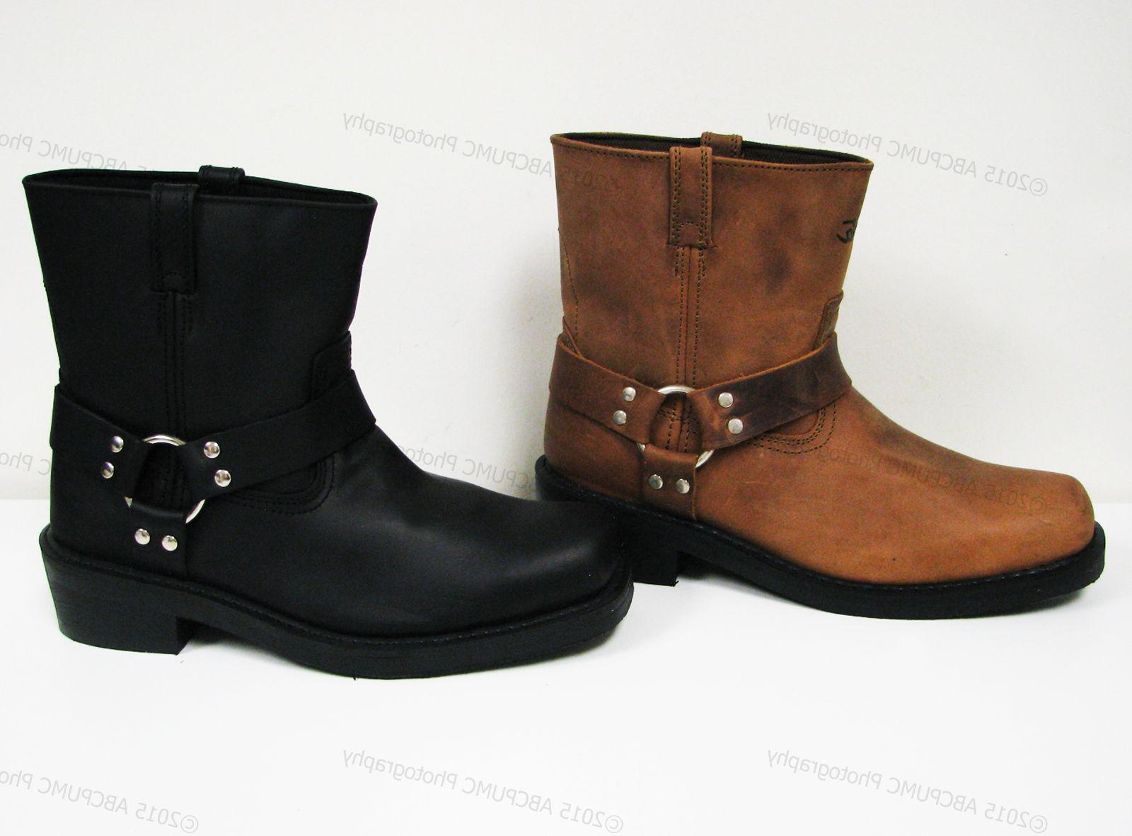 Brand Boots Motorcycle Leather Riding,