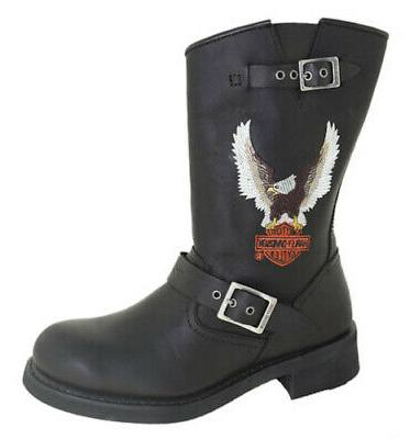 men s jerry motorcycle boot black style