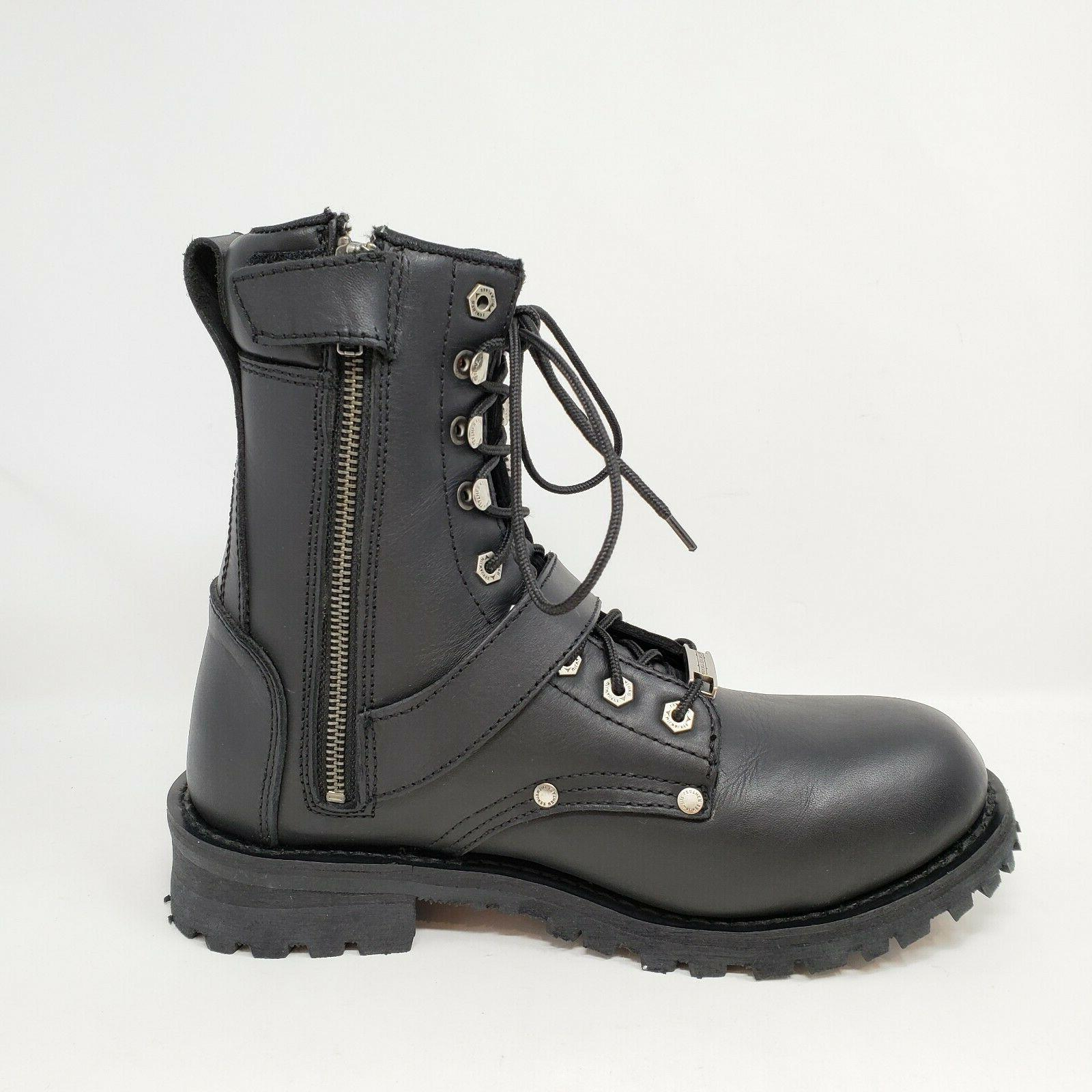 Milwaukee Up Black Boots