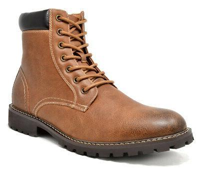 Combat Fur Oxford Boots