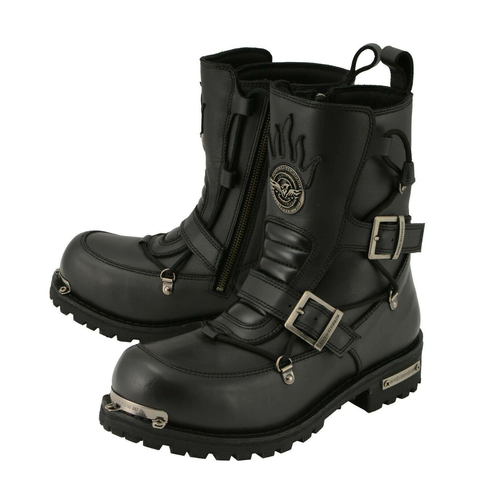 men s logger boot round toe w