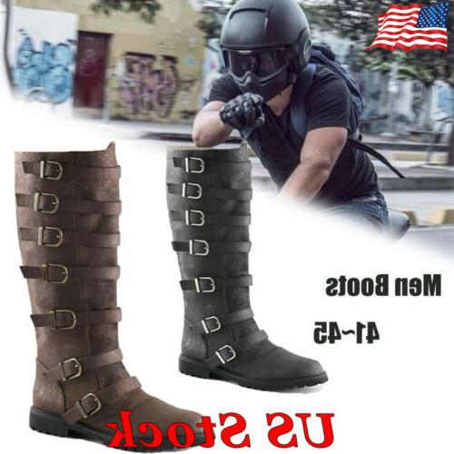 men s motorcycle boots riding pirate boots
