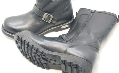 XELEMENT BLACK MOTORCYCLE BOOTS NEW