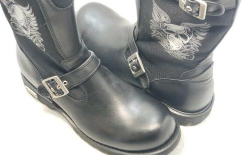 XELEMENT BLACK BOOTS