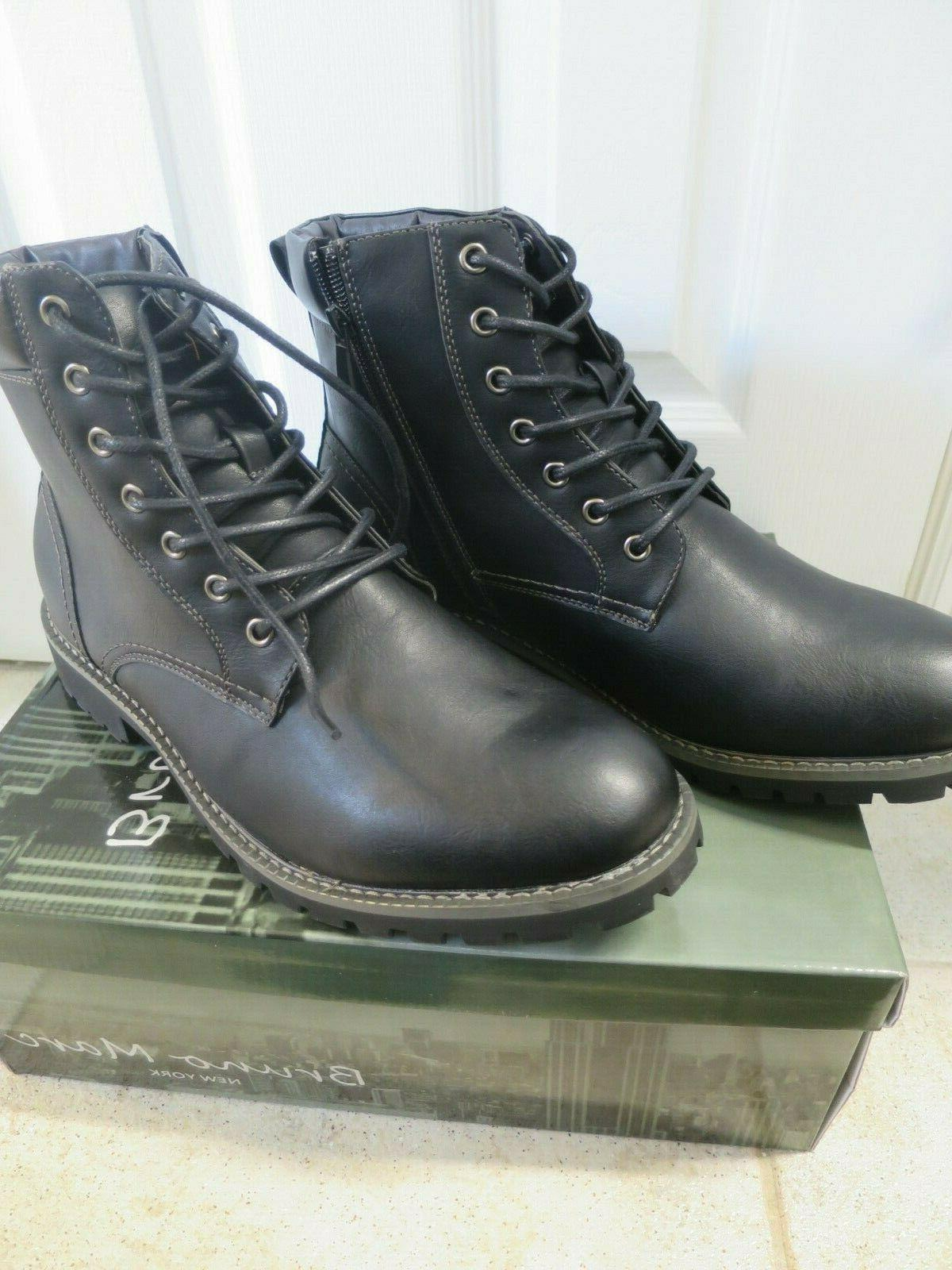 Bruno Black Combat Dress Oxford Snow Boots Size 1