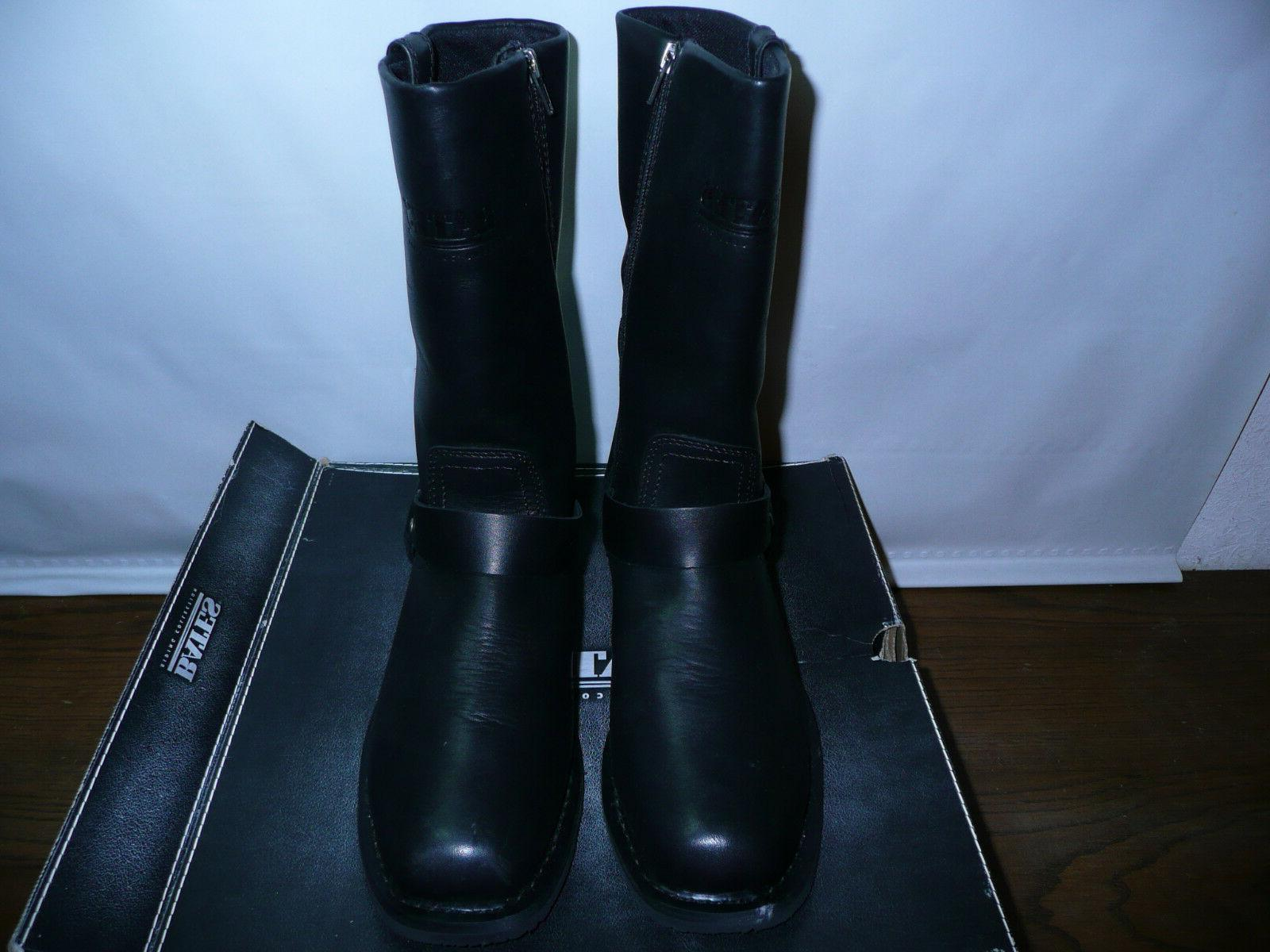 Bates Men's Tahoe Motorcycle Boot,Black,7.5 W US