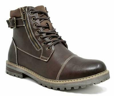 men s winter motorcycle work lace up