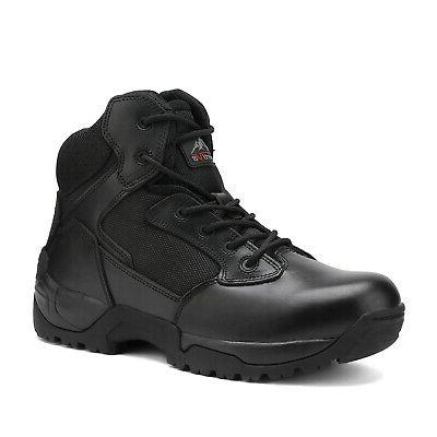 NORTIV Men's Military Boots Combat Hiking