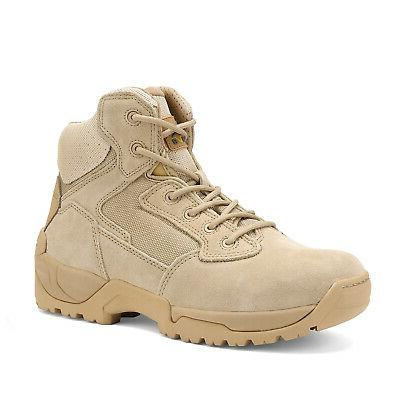 NORTIV Military Boots Motorcycle Combat Ankle