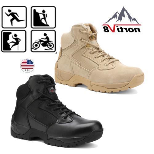 men s zip military tactical boots motorcycle