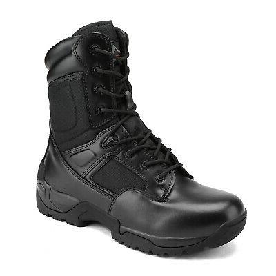 Men's Military Work Boots Bootie
