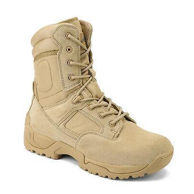 Men's Tactical Boots Motorcycle Bootie New