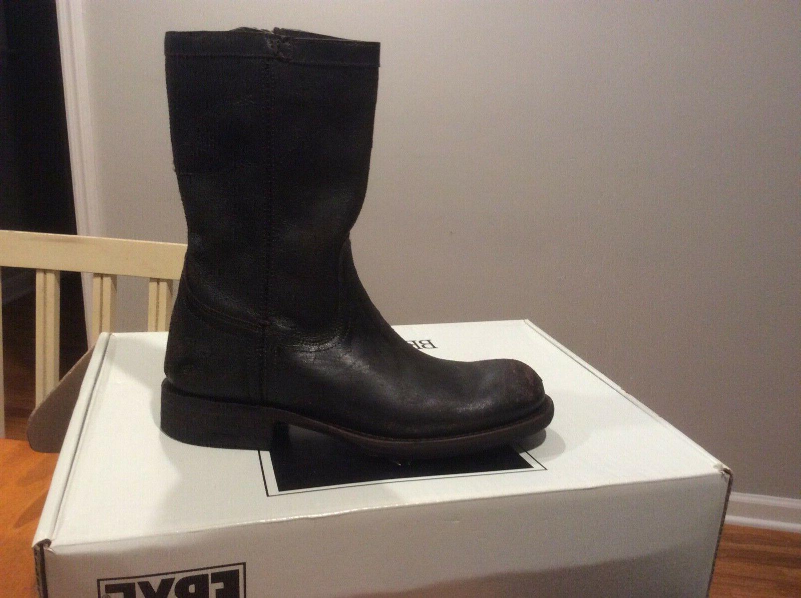 Frye men's brown motorcycle boots 7.5