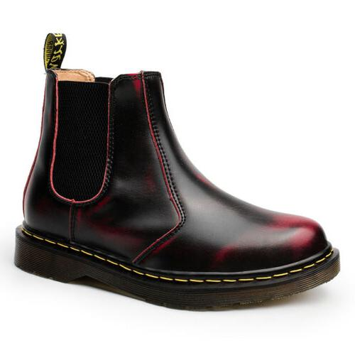 Mens Fashion Chelsea Boots Flat on