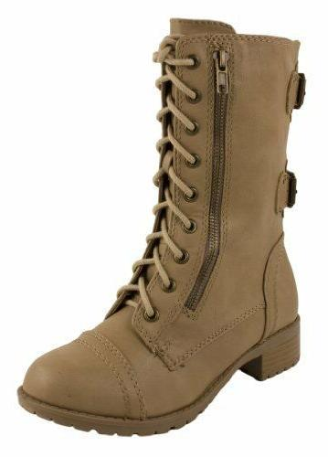 MILITARY UP BOOTS SODA