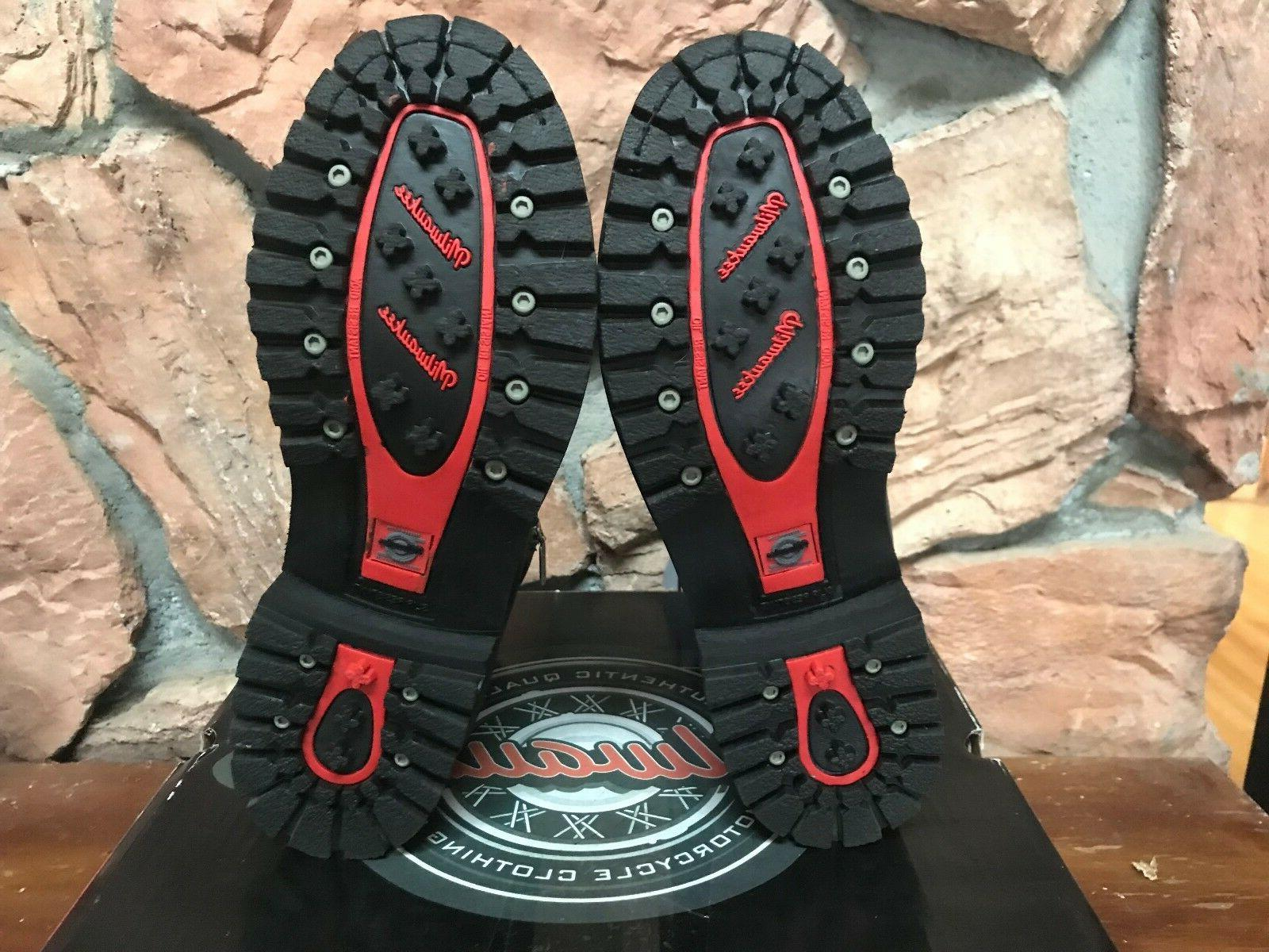 Milwaukee Clothing Accelerator Leather Boots MMCC