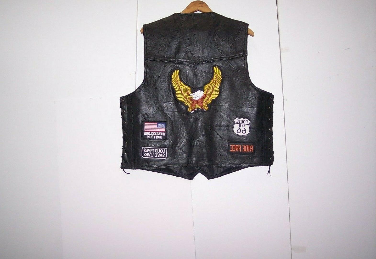 Genuine Buffalo Patch Vest