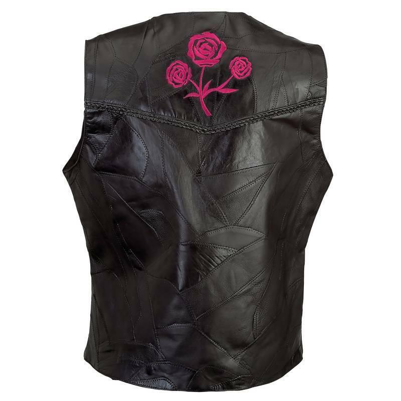 Motorcycle with Roses Plate New S M L XL 2X
