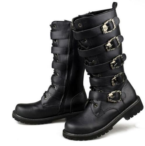 motorcycle Mens under buckle shoes