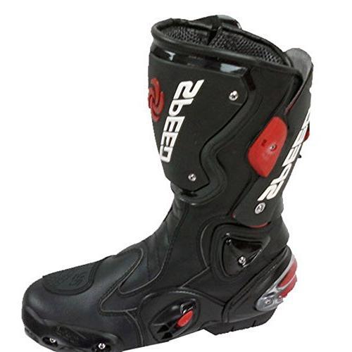NEW Men's Motorcycle Boots Black US EU 44 UK