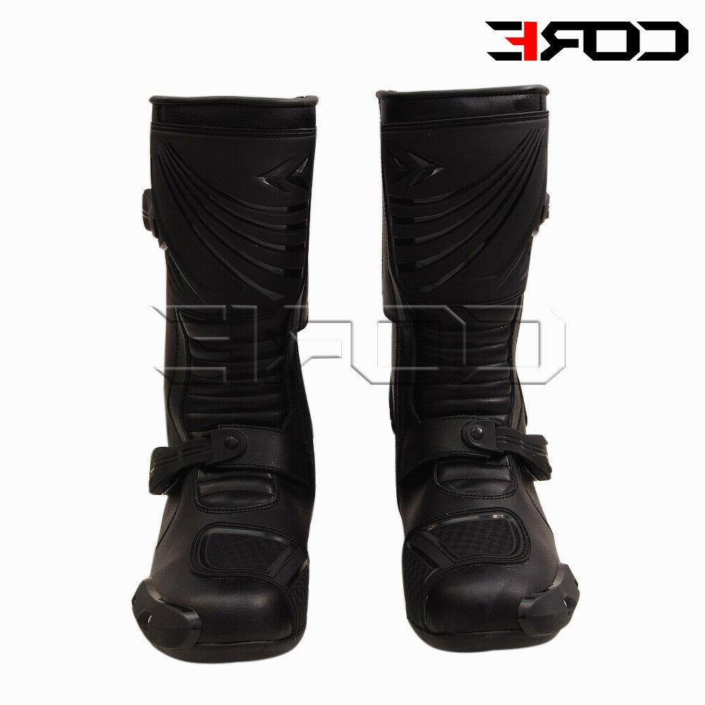 motorcycle riding waterproof leather anti skid sports