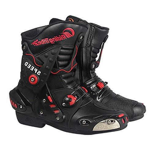 motorcycle street bike air boots