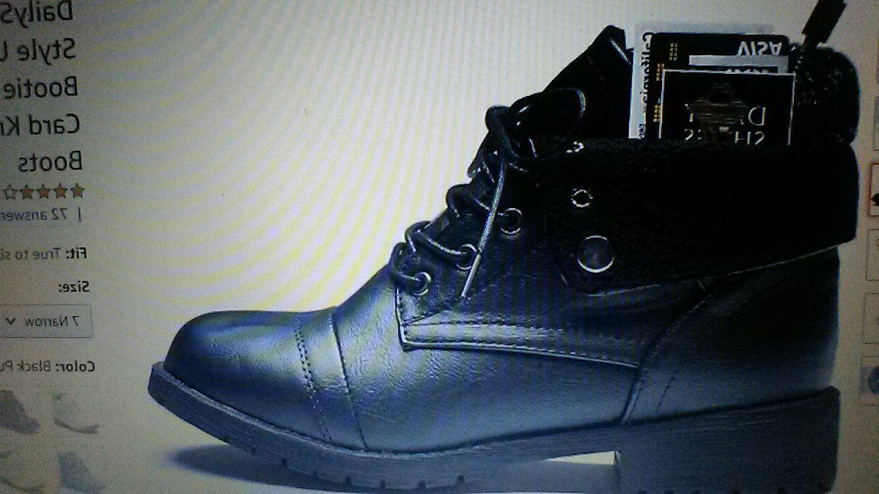 DailyShoes motorcycle boots ankle pocket combat boot 11