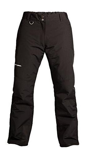 Arctix Men's Mountain Ski Pant, Black, Small