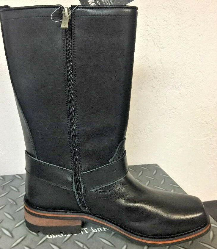 NEW Mens Tecs Boots Black Work 1501