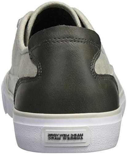 Marc New York Men's Bergen Sneaker, Grey/White, 11